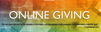 online giving banner